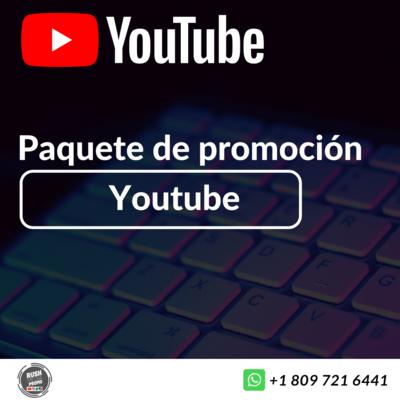 Paquete de promoción youtube