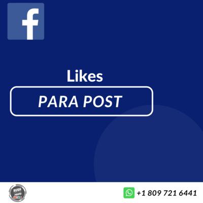 Like para post (fotos) facebook