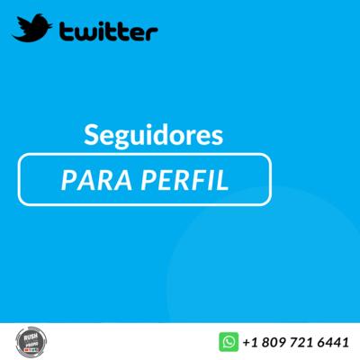 Seguidores para Twitter