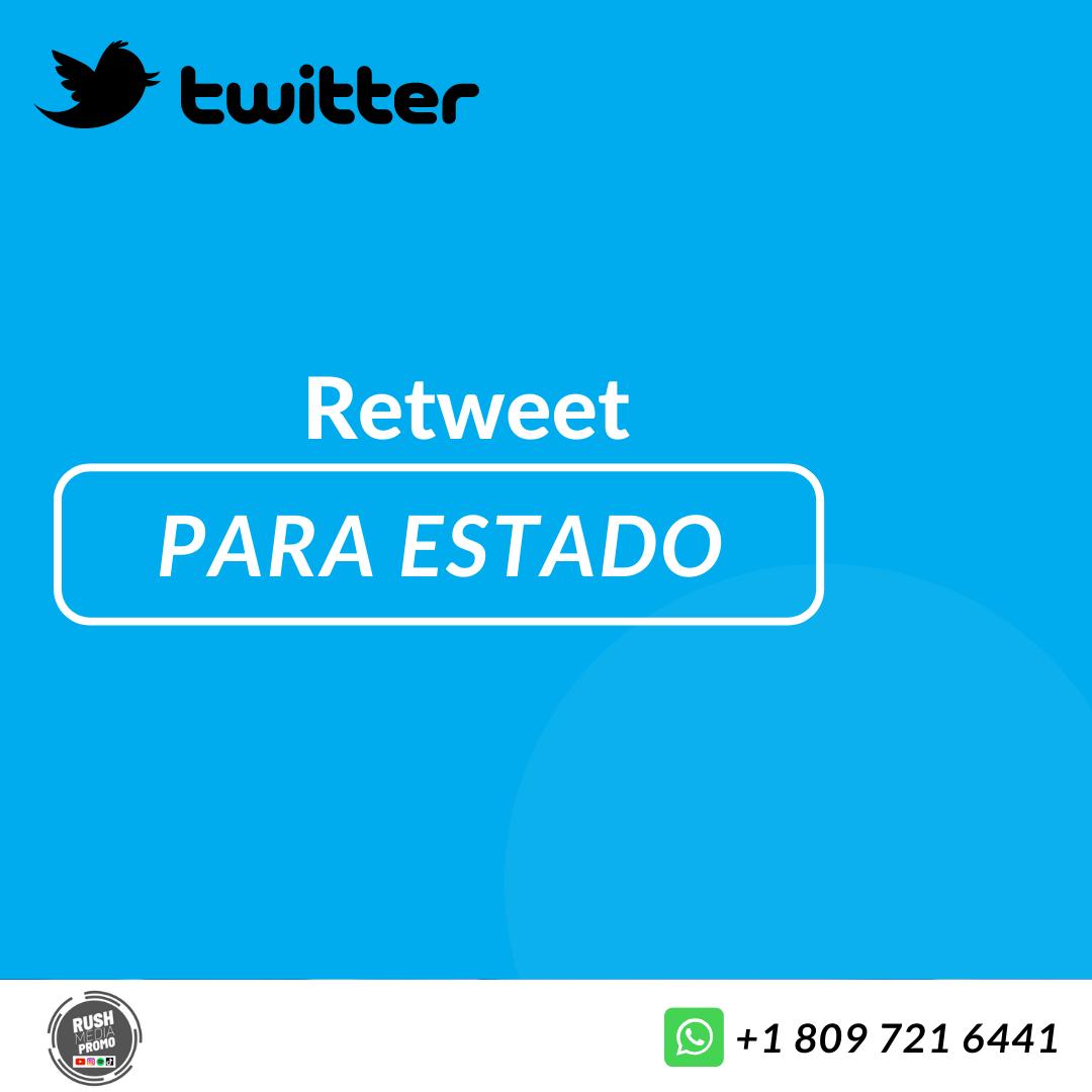 Retweet para estado