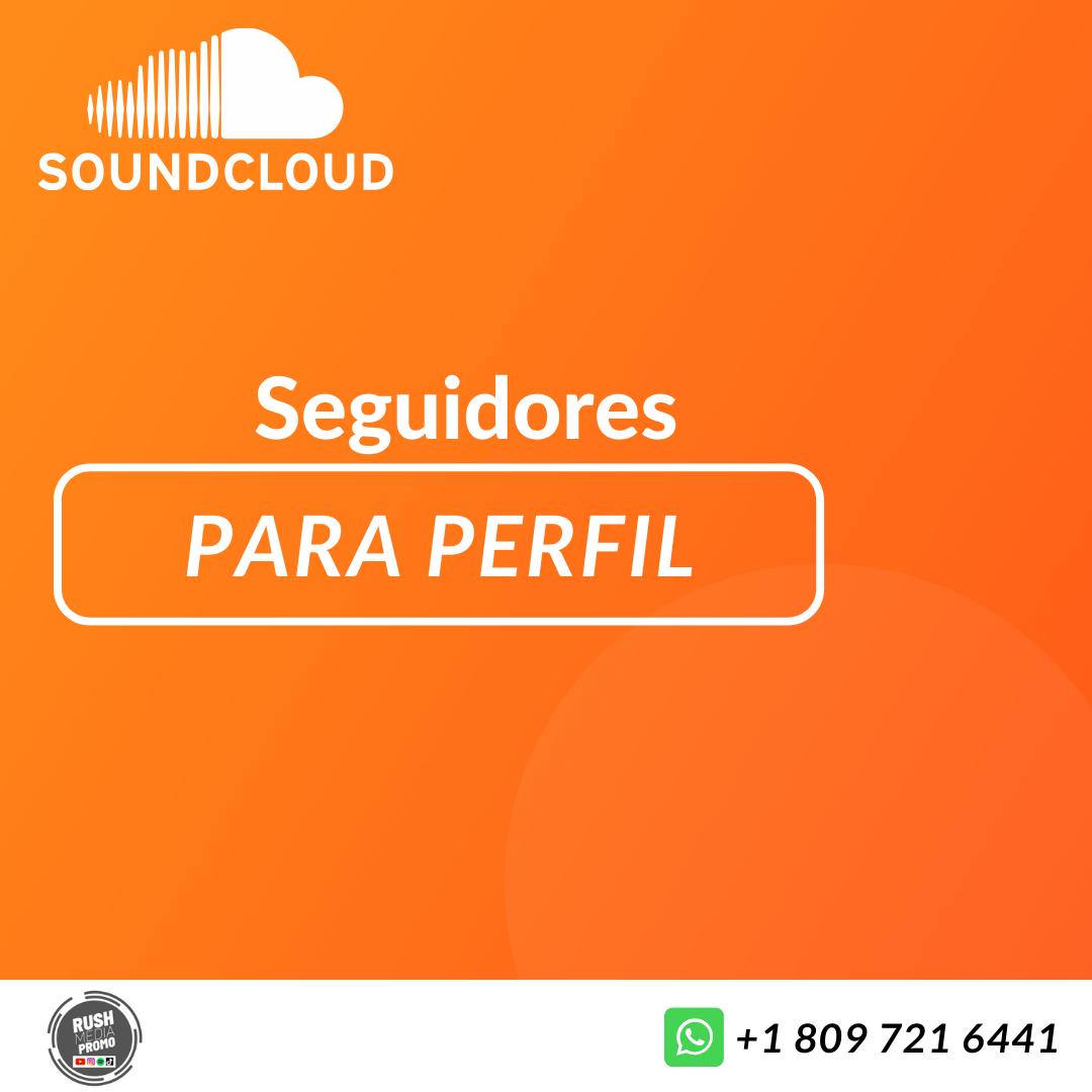 Seguidores para SoundCloud