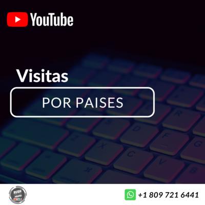 Comprar Visitas De Youtube Por Paises