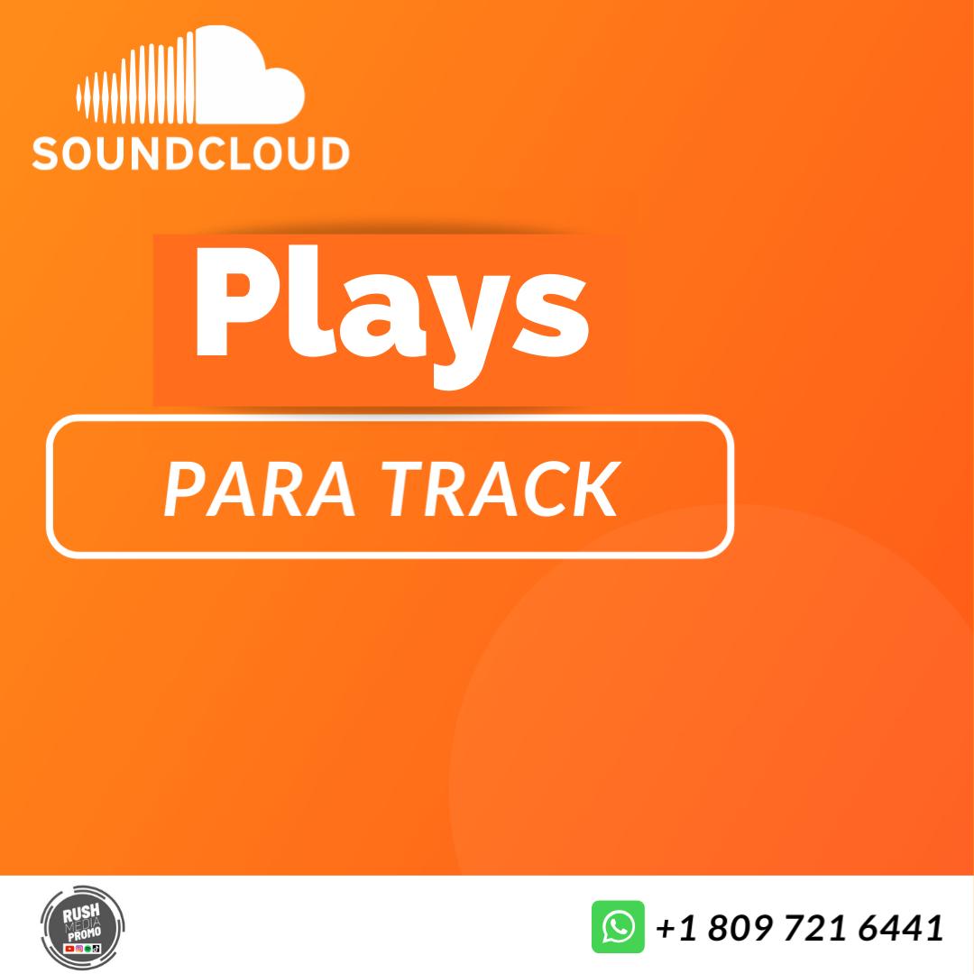 Souncloud Plays