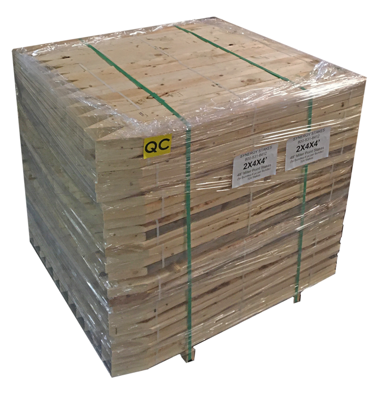 2X4 Stakes FULL Pallet - $3.40 per piece