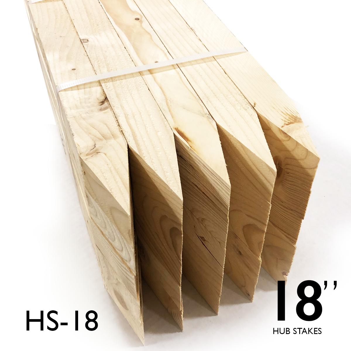 "Hub Stakes 2 X 2 X 18"" FULL Pallet"