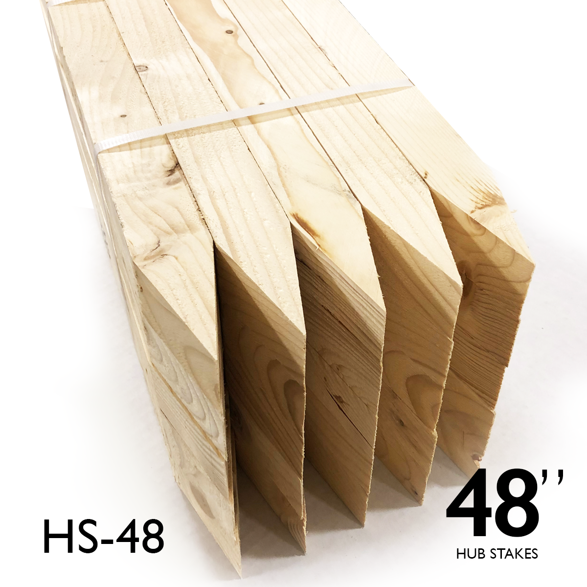 "Hub Stakes 2 X 2 X 48"" FULL Pallet"