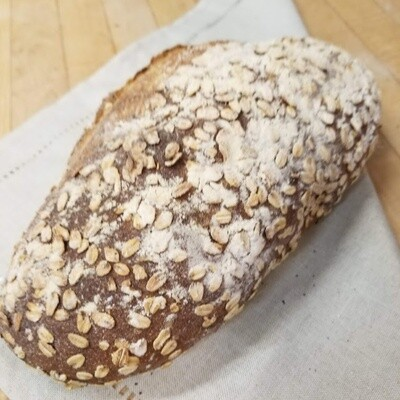 Dark Seeded Sourdough (Only available Friday & Saturdays)