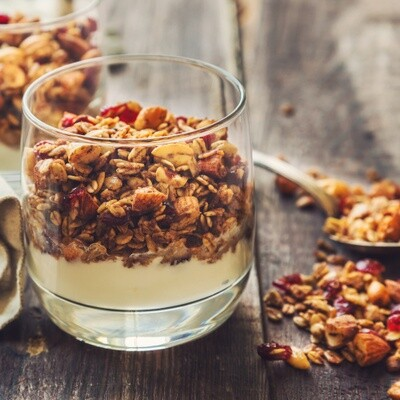Honey Cranberry Granola, 500 g