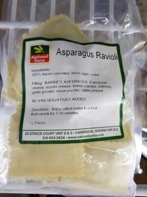 Asparagus Ravioli - Barrie's