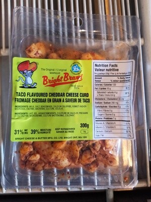 Bright Cheese Curds, 300g