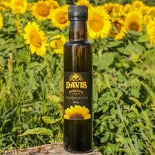 Sunflower Oil, 250ml - Davis Farm