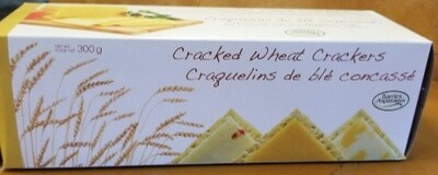 Cracked Wheat Crackers 300g - Barrie's
