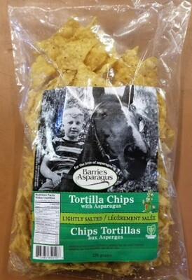 Tortilla Chips with Asparagus 250g