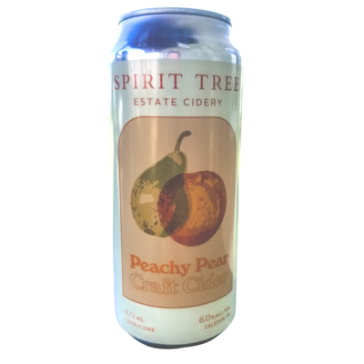 Peach Pear, 473ml can