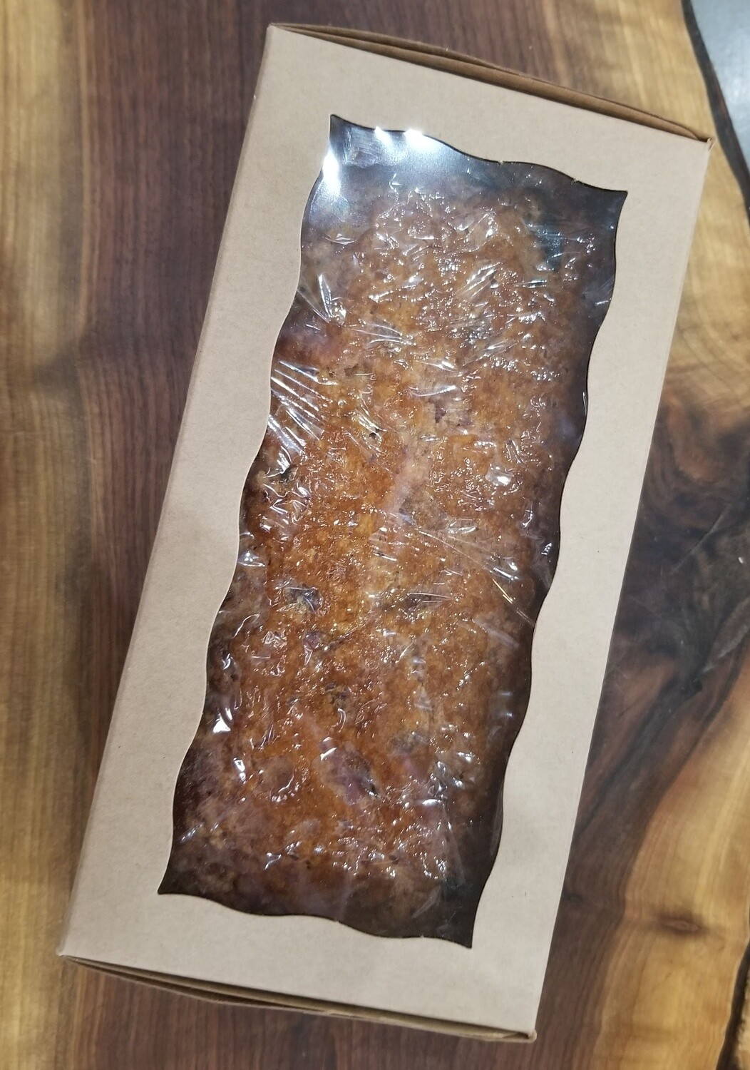 Christmas Cake - Apple & Candied Ginger Cake