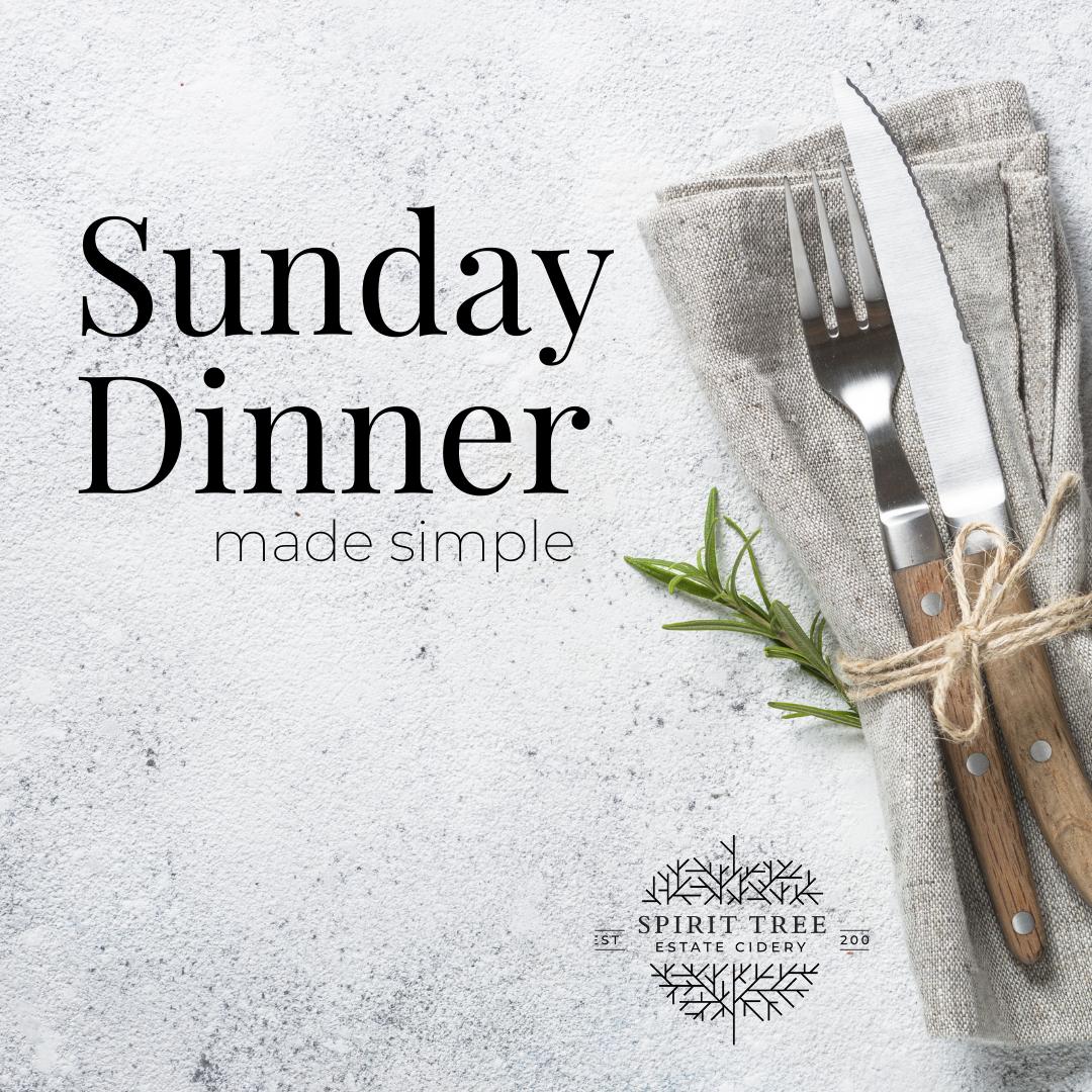 2021 Sunday Dinners