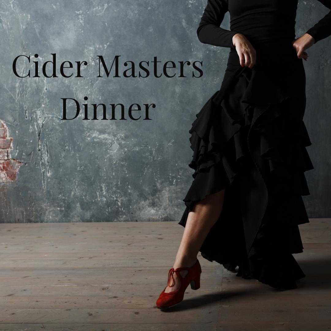 Cider Master's Dinner for two
