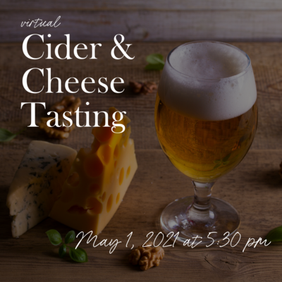 Cider and Cheese Tasting
