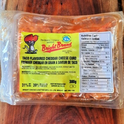 Bright Cheese Curds, 300g