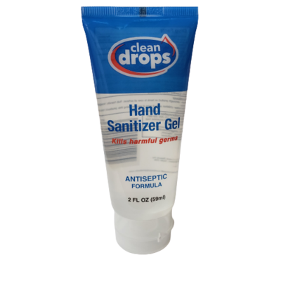 Clean Drops Hand Sanitizer 2oz