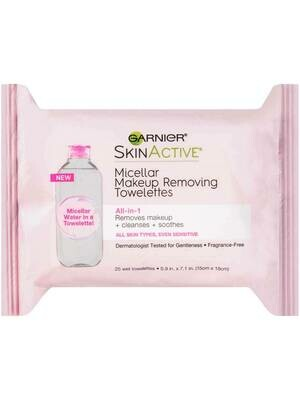Skin Active: Micellar Make up remove wipes