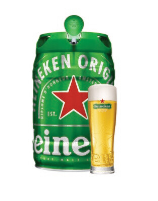 Heineken Keg 5Ltr
