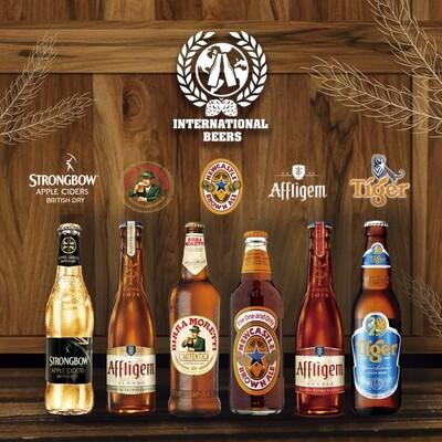 International Beers 6 pack