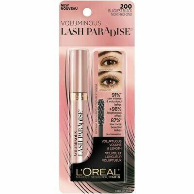 Lash Paradise Mascara: Blackest Black Washable