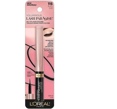 Lash Paradise Mascara: Liquid Eyeliner black