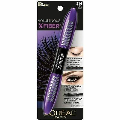X-Fiber Mascara Black Washable