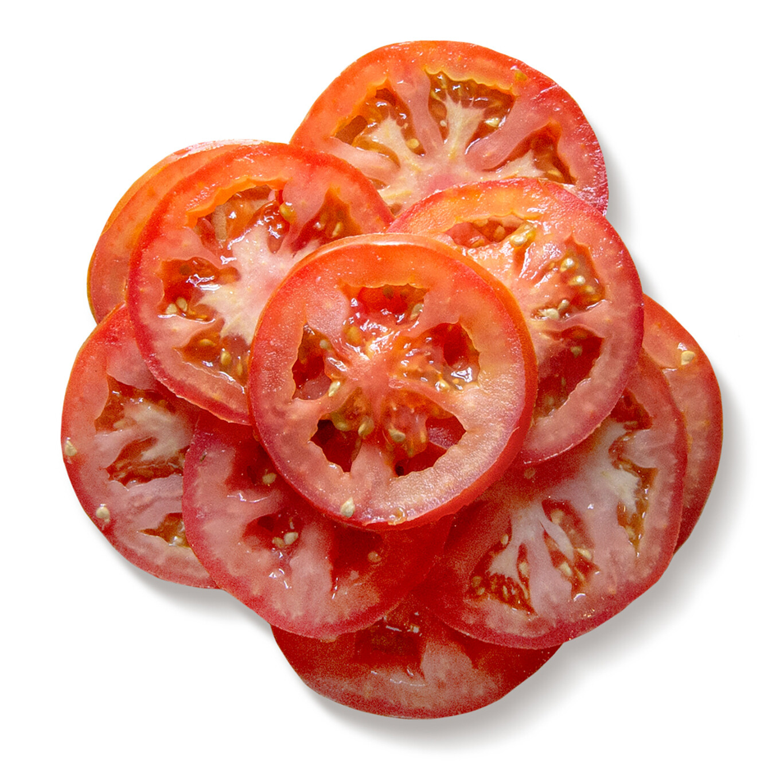 10 Rodajas de Fresco Tomate