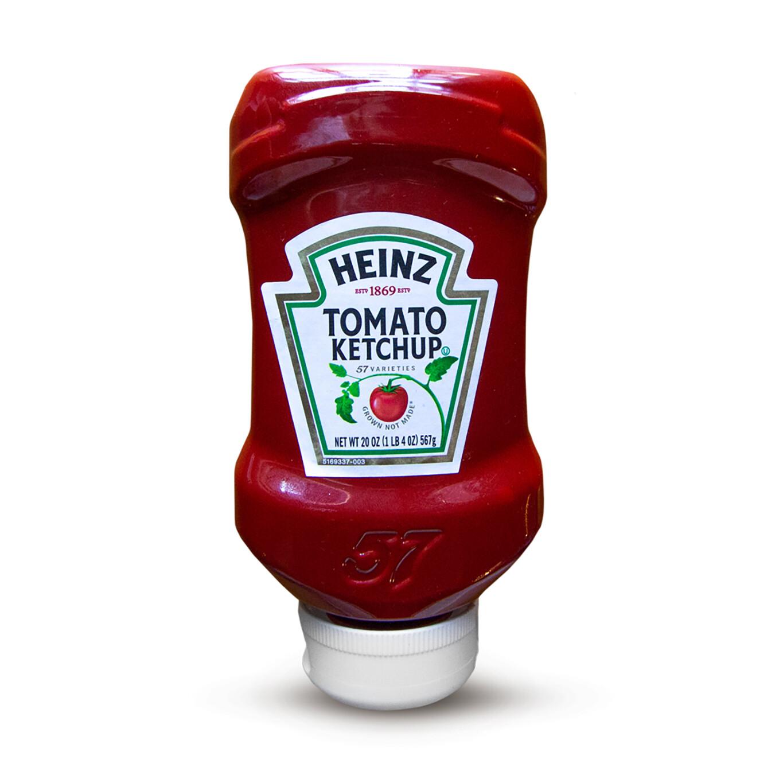 20 onzas de Ketchup Heinz
