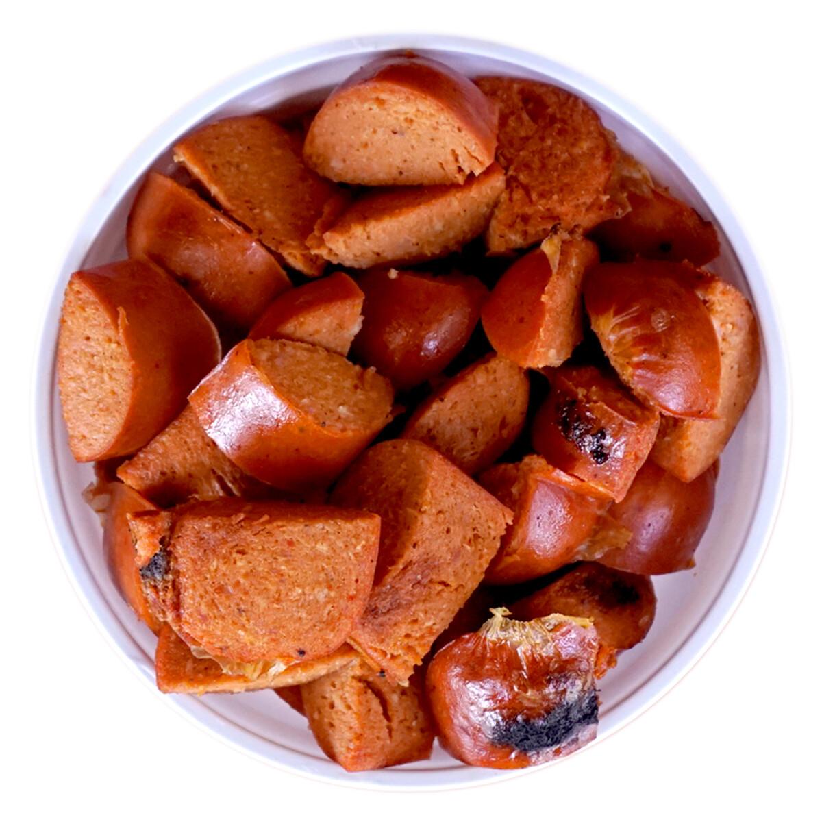 10 Chorizos previamente a la parrilla