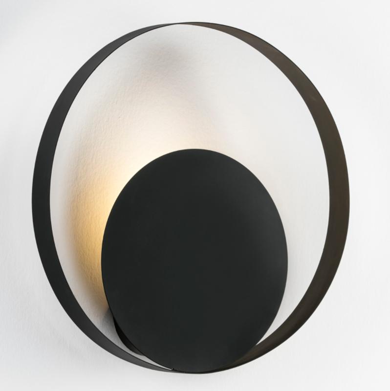 WALL LAMP / METAL BLACK 50x11x50