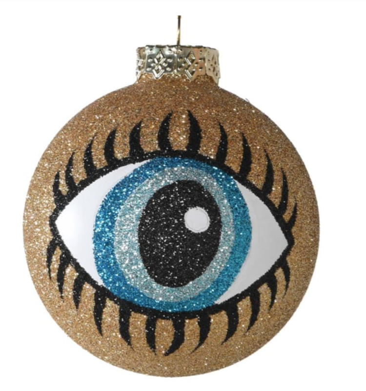 GLITTER EYE BAULBE / SET OF 6