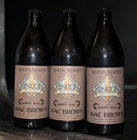 Barrel Aged Mac Brown (16.9oz Bottle)