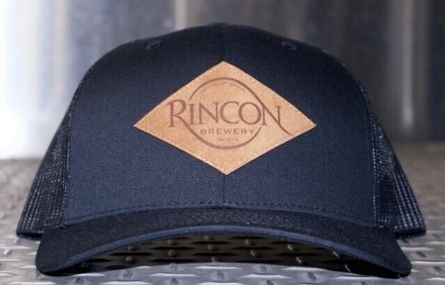 """Black """"Rincon Brewery"""" Trucker"""
