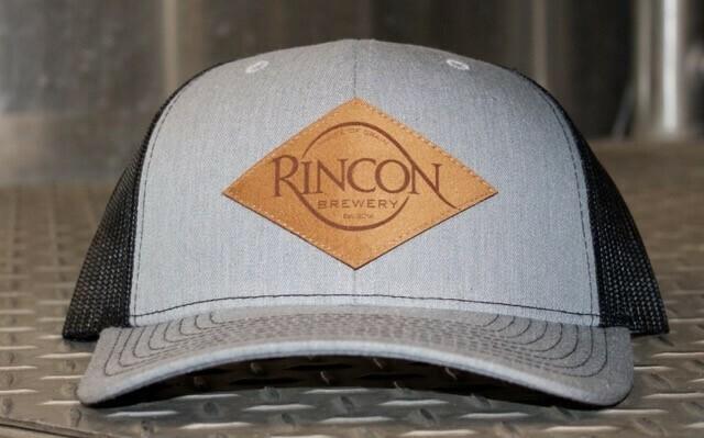"""Grey/Heather """"Rincon Brewery"""" Trucker"""