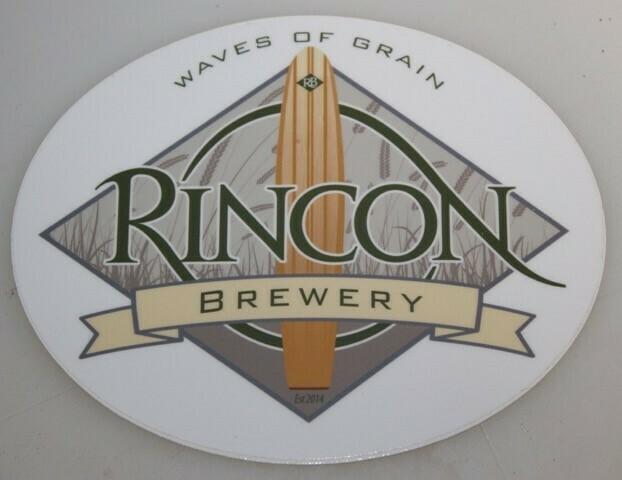 Rincon Brewery Logo Sticker