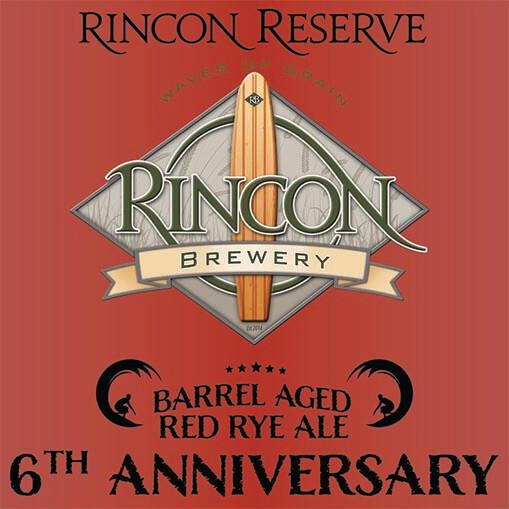 6th Anniversary Barrel Aged Red Rye (16.9oz)