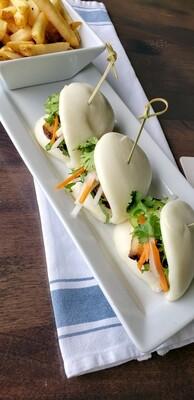 Crispy Pork Belly Bao Buns (New Menu Item!)