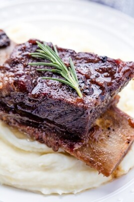 Braised Beef Short Rib (Now available every day)