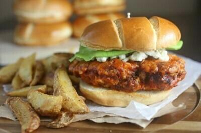 Crispy Buffalo Chicken Sandwich (New Menu Item!)