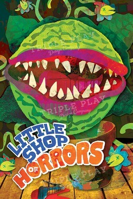 Little Shop of Horrors — Illustrated Art Print