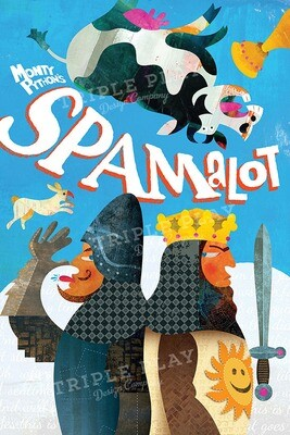 Monty Python's Spamalot — Illustrated Art Print