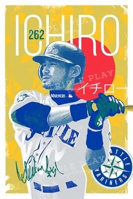 Ichiro — Illustrated Art Print