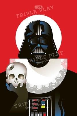 Star Wars: Cinema Poster — Illustrated Art Print