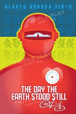 The Day the Earth Stood Still: Cinema Poster — Illustrated Art Print
