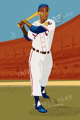 Larry Doby — Illustrated Art Print