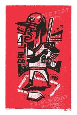 Joe Morgan — Illustrated Art Print